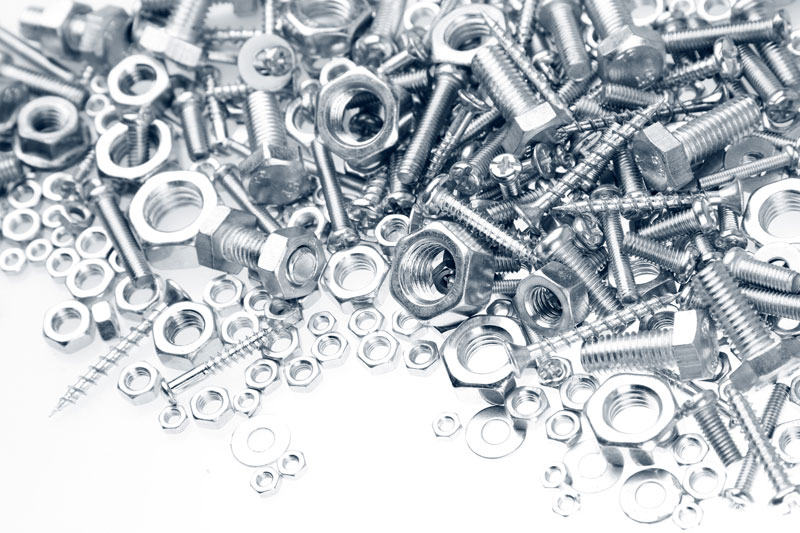 types of fasteners for construction projects